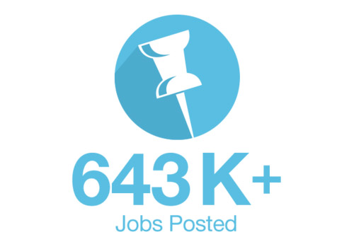 Jobs Posted Icon Graphic