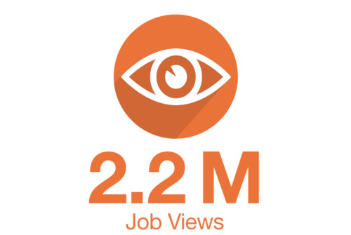 Jobs Viewed Icon Graphic