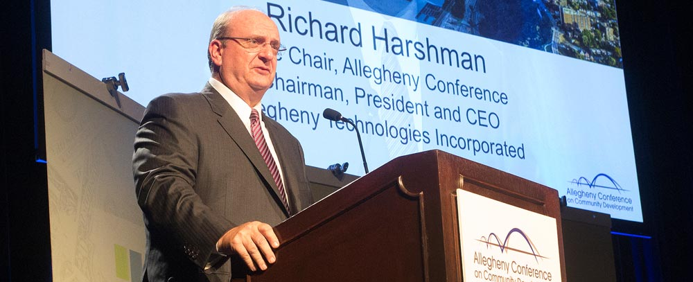 image of Richard Harshman Speaking at 2015 Annual Conference