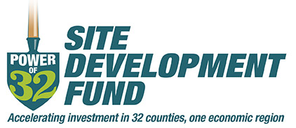 Logo for Power of 32 Site Development Fund